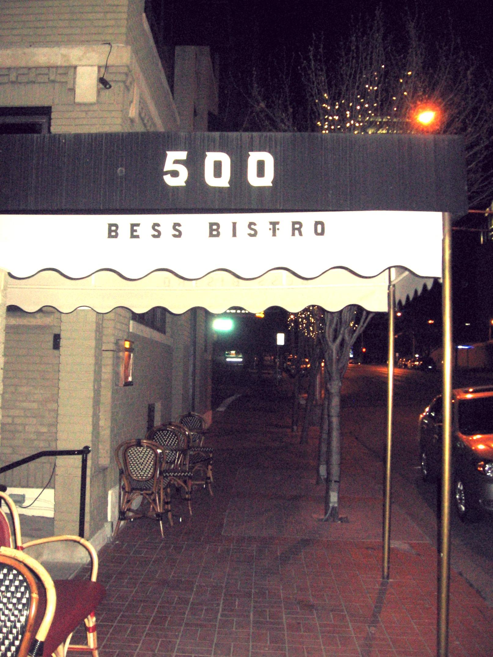 Bess Bistro, Sandra Bullock's restaurant in Austin, Texas