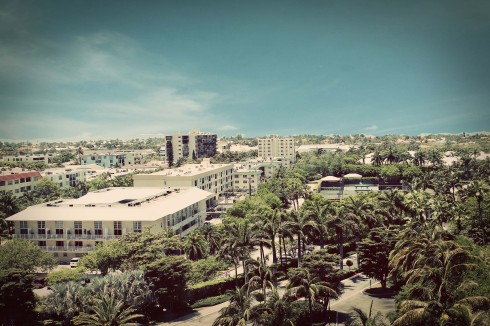 Miami and Key Biscayne skyline