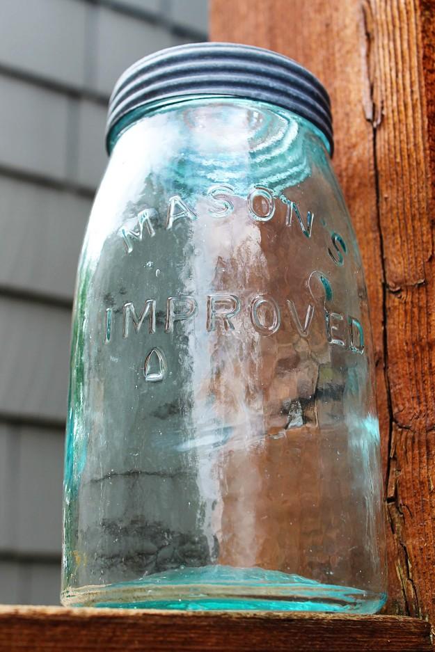 large mason jar